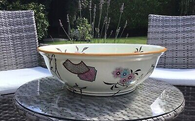 Aesthetic Powell Bishop & Stonier Mikado large bowl Christopher Dresser influenc