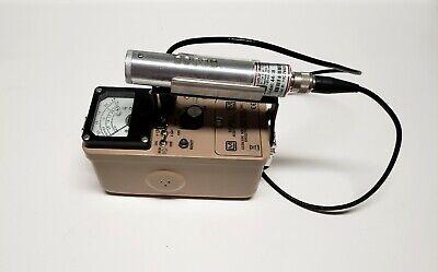 Ludlum Model 3 Survey Meter W 44-38 Beta Gamma Detector In Excellent Condition