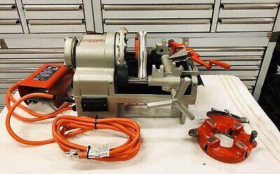 Ridgid 1215 61142pipe Threader Compact Light 44rpm 115v12243005551822