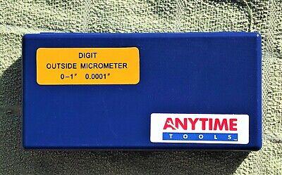 Digital Outside Micrometer Mechanical Digit Counter 0-10.0001