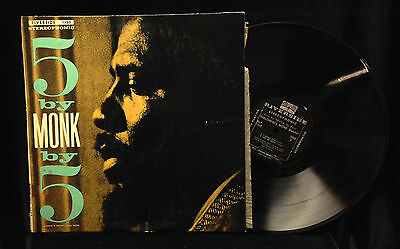Thelonious Monk 5 By Monk By 5 Riverside 1150 Stereo Dg