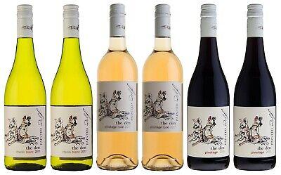 - SET - PAINTED WOLF Wein Probierset Rosé / Weiß / Rot (6 x 750ml)