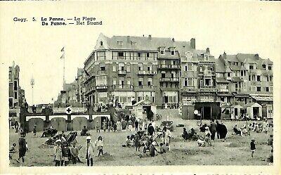 CPA - Belgique - De Panne - La Panne - La Plage