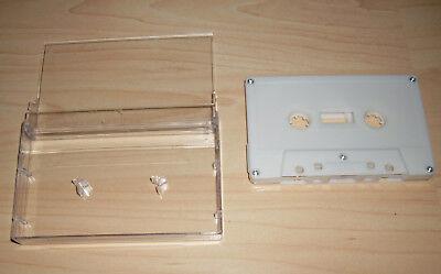 Reinigungskassette für die Tonköpfe im Kassettenrecorder weiss Reinigen Neu