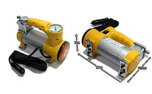 Mini compressore portatile presa 12v accendisigari per for Mini compressore portatile per auto moto bici 12v professionale accendisigari