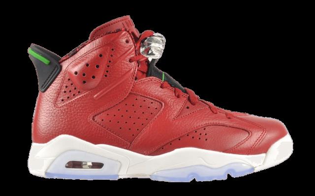 Jordan 6 Varsity Red Sneaker
