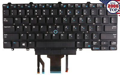 New Keyboard for Dell  Latitude 3340 E7450 E5450 E7470 E5470 US with BKLIT D19TR for sale  Shipping to India