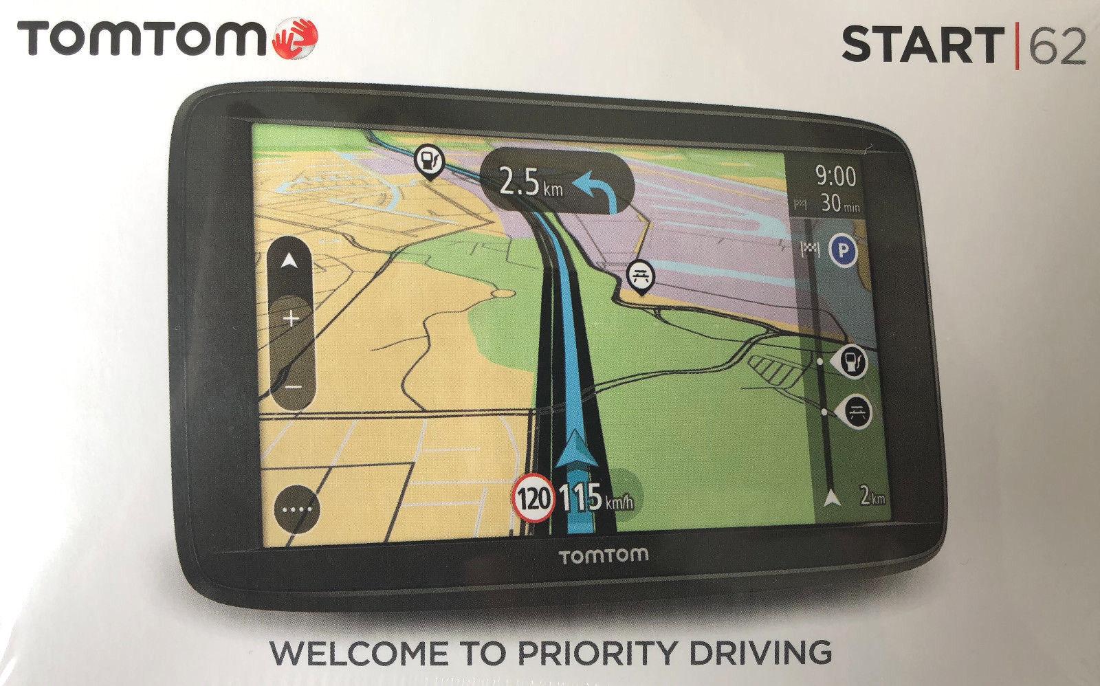 Tomtom Start 62 EU 6 Zoll 15cm Display Navigationsgerät Navigationssystem Neu
