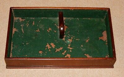 Antique Mahogany Butlers / Cutlery Tray