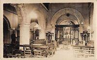 Br81840 Interior Of Rous Lench Church Real Photo Uk - inter - ebay.co.uk