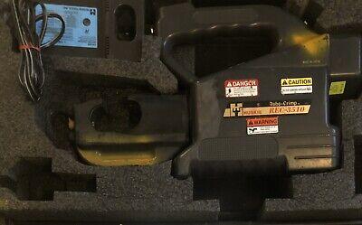 Huskie Rec-3510 12 Ton Hydraulic 14.4v Battery Crimper Robo U Die Crimping Tool