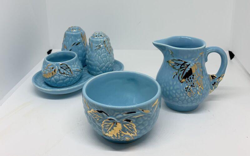 Lot Wade Golden Turquoise Tableware