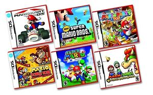 LOOKING FOR: Mario DS