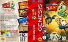 Sega Genesis Earthworm Jim Video Games