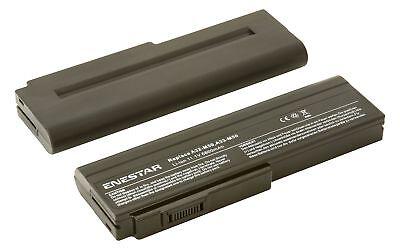 6600mAh Laptop Battery for ASUS PRO64J PRO64 PRO62J N53SV N53SN N53SM N53S N53JF (Asus N53sv)