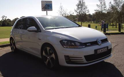 2014 Volkswagen Golf GTI White