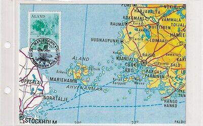 Aland 5 MAXI CARD MAP NAVIGATION MARIEHAMN CARTE KARTE