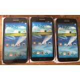 (3) Samsung Galaxy Note II Black Mock Up Generic Display Phone NON-FUNCTIONING