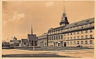 PARDUBITZ PARDUBICE CZECH REPUBLIC ~ 1942 PHOTO POSTCARD