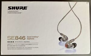 Shure SE846 IEM's + Shure MMCX Bluetooth & Lightning Cables