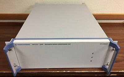 Rohde Schwarz Ascu-g1 Gsm Advanced Signal Conditioning Unit