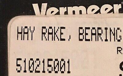 Vermeer Hay Rake Bearing 510215001