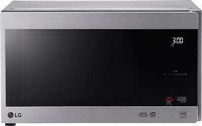 LG - NeoChef 0.9 Cu. Ft. Compact Microwave with EasyClean - Stainless steel