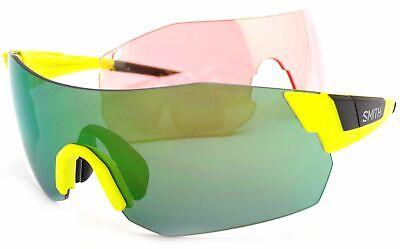 Smith Gafas de Sol Pivlock Arena Max + Intercambiable Lente Negro Amarillo...