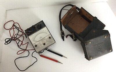 Westinghouse Ac Volt Meter Electrical Instrument Model Pa-141 25-140 Hz