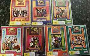 That 70's Show Box Sets of DVD's Raymond Terrace Port Stephens Area Preview