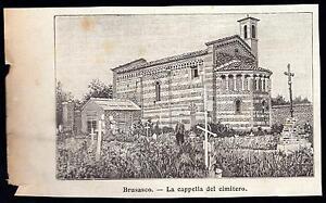BRUSASCO-XILOGRAFIA-LA-CAPPELLA-DEL-CIMITERO-LE-CENTO-CITTA-039-D-039-ITALIA-1899