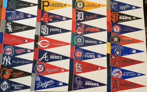 new mlb baseball teams mini pennants pick