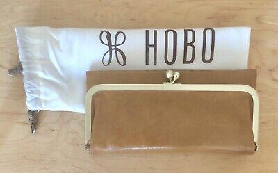 Hobo International Womens Wallet (Nwt Women's Hobo International Leather Wallet Rachel, Earth (Caramel))