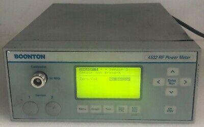 Boonton 4532-01 Rf Peak Power Meter Dual Channel 453201