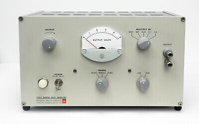 Gr General Radio 1390b Random Noise Generator 5hz - 5mhz 1390-b Clean Late