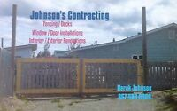Johnson Contracting for all your Carpentry needs