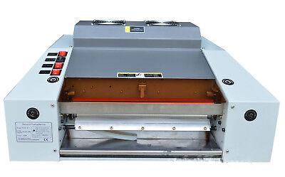 A3 13in Width Uv Laminating Photo Coating Laminator Machine 220v