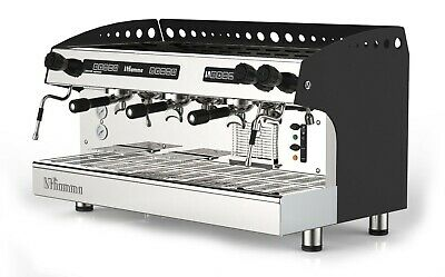 3 Group Programmable Commercial Espresso Machine Tall Cup Cappuccino Latte