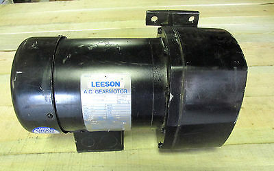 New .. Leeson Ac Gear Motor 3ph .33hp 59rpm Cat 107028.00  .. Vy-198