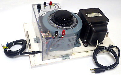 Tested Superior Electric Powerstat 236b Variac 240v W Hammond Transformer 171f