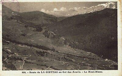CPA - Carte postale-France- Route de la GIETTAZ au Col des Aravis -(iv 411)