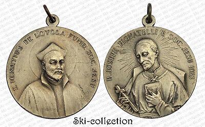 Medal Religious S.Ignatius of Loyola-B.joseph Pignatelli. Soc.jesu 1933