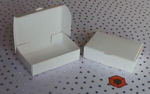 50 BARGAIN White Single slice Wedding CAKE favour/ Party boxes 100x60x30mm £3.64