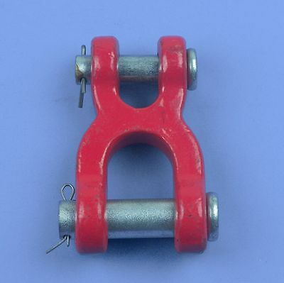 2pcs - Heavy Duty Double Clevis Link - Chain Link - 58