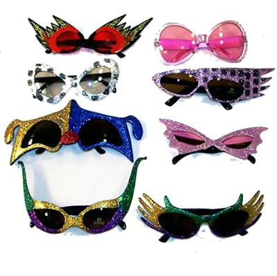 12 PAIR CRAZY NOVELTY PARTY GLASSES funny eyewear for parites party favors (Crazy Sun Glasses)