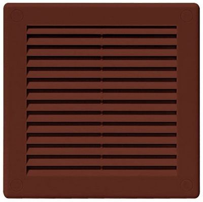 Air Vent Grille Brown Ventilation Cover Variety Of Sizes (300 X 300mm)
