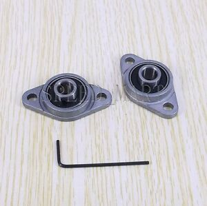 2-x-8mm-Mounted-Cast-Housing-Self-aligning-Pillow-Flange-Block-Bearing