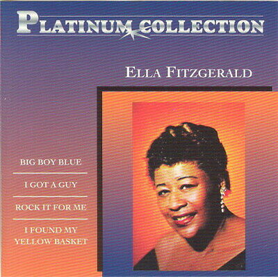 CD * ELLA FITZGERALD - PLATINUM COLLECTION