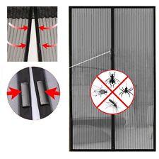 Zanzariera tenda magnetica chiusura calamita 240x140 210x100 cm zanzare mosche