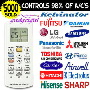 Universal-A-C-Air-Con-Conditioner-Remote-Centrex-Fujitsu-LG-Carrier-ALL-BRANDS
